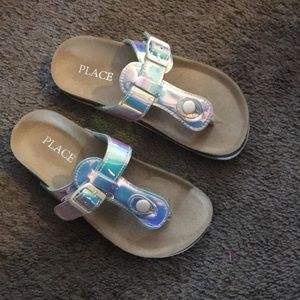 The Children's Place Kids Thong Luna Flat Sandal
